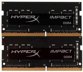 Оперативная память SODIMM Kingston HyperX Impact [HX424S14IBK2/8] 8 Гб