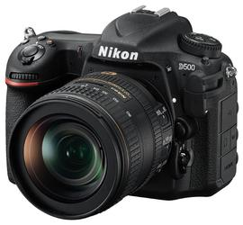 Зеркальная камера Nikon D500 Kit 16-80mm черный