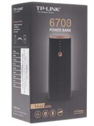 Портативный аккумулятор TP-Link Vivid TL-PBG6700 черный