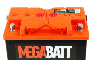 Автомобильный аккумулятор Mega Ватт 6ст-66 NR