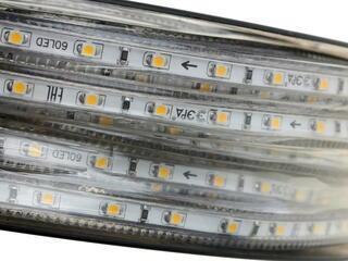 Светодиодная лента ЭРА 3528-220-60LED-IP67-WW-25m