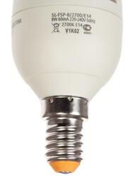 Лампа люминесцентная Supra SL-FSP-8/2700/Е14