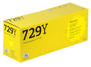 Картридж лазерный T2 TC-C729Y