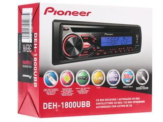Автопроигрыватель Pioneer DEH-1800UBB + USB Flash 8Gb