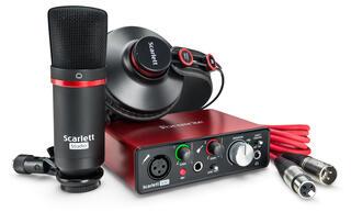 Комплект для звукозаписи FOCUSRITE Scarlett Solo Studio 2nd Gen