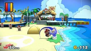 Игра для Wii U Paper Mario Color Splash