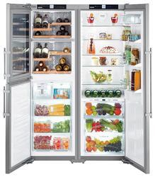 Холодильник Liebherr SBSes 7165-21 001 серебристый