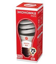 Лампа люминесцентная Экономка SPC 15W E2742