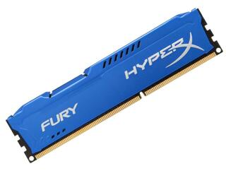 Оперативная память Kingston HyperX FURY Blue Series [HX313C9F/4] 4 ГБ
