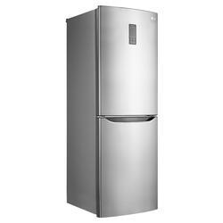 Холодильник с морозильником LG GA-B379SMQA серебристый