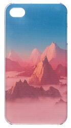 Накладка + защитная пленка  Deppa для смартфона Apple iPhone 4/4S