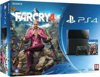 Игровая приставка PlayStation 4 + Far Cry 4