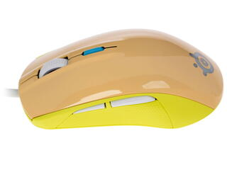 Мышь проводная SteelSeries Rival 100 Gaia бежевый