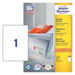 Самоклеящиеся этикетки Avery Zweckform 3478