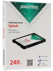 240 ГБ SSD-накопитель Smartbuy Splash [SB240GB-SPLH-25SAT3]