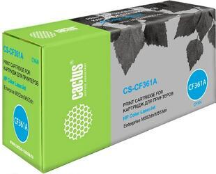 Картридж лазерный Cactus CS-CF361A