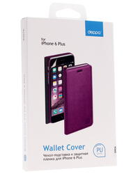 Чехол-книжка  Deppa для смартфона Apple iPhone 6 Plus/6S Plus