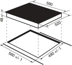Электрическая варочная поверхность Indesit VRA 641 D B S