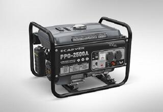 Бензиновый электрогенератор CARVER PPG- 2500A