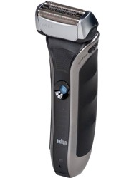 Электробритва Braun 570S + стайлер Braun FUS PrGl Styler + фен Braun HD 510