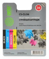 Картридж струйный Cactus CS-CLI36