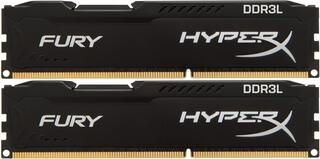 Оперативная память Kingston HyperX FURY Black [HX318LC11FBK2/8] 8 ГБ