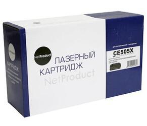 Картридж лазерный NetProduct CE505X