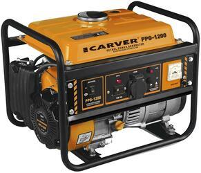 Бензиновый электрогенератор Carver PPG- 1200