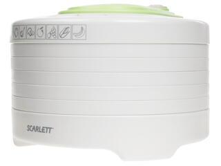 Сушилка для овощей и фруктов Scarlett SC-FD421003 белый, зеленый