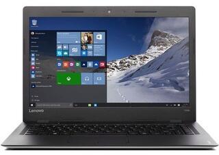"14"" Ноутбук Lenovo 100s-14IBR серебристый"