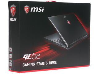 """15.6"""" Ноутбук MSI GL62 6QD-006RU черный"""