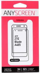 "5""  Пленка защитная для смартфона ZTE Blade A465"