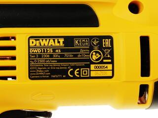 Дрель DeWalt DWD 112S