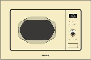 Встраиваемая микроволновая печь Gorenje BM201INI бежевый