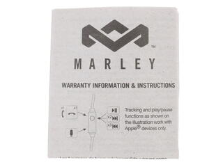 Наушники Marley Little Bird Black