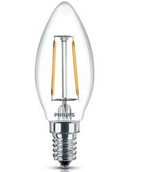 Лампа светодиодная Philips LED Fila 2.3-25W E14 WW B35 ND 1CT