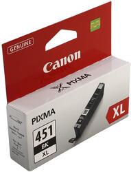Картридж струйный Canon CLI-451BK XL