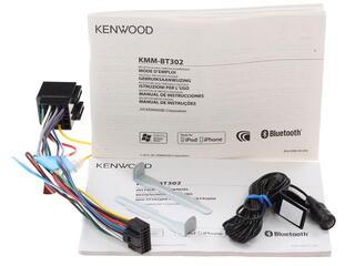 Автопроигрыватель Kenwood KMM-BT302