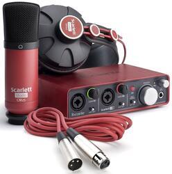 Комплект для звукозаписи FOCUSRITE Scarlett Studio 2nd Gen