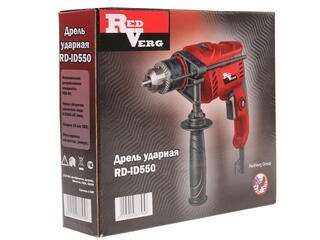 Дрель Redverg RD-ID550