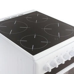 Комбинированная плита Indesit KN3N117 белый