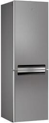 Холодильник с морозильником Whirlpool WBA 3327 NFIX серебристый