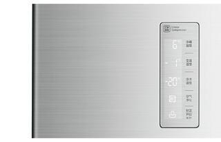 Холодильник LG GC-B40BSMQV серебристый