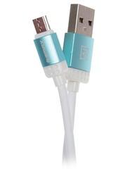 Кабель Remax Lovely  USB - micro USB синий