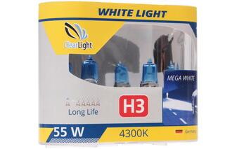 Галогеновая лампа ClearLight H3 WhiteLight