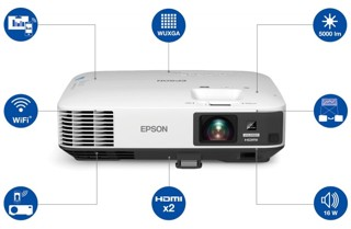Проектор EPSON EB-1970W белый