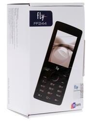 Сотовый телефон Fly FF244 серый