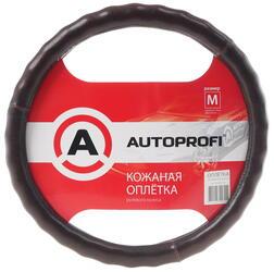 Оплетка на руль AUTOPROFI (AP-765) коричневый