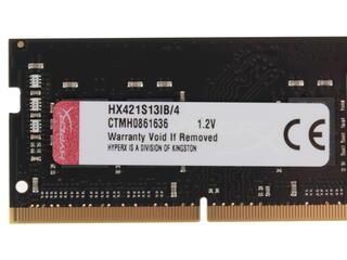 Оперативная память SODIMM Kingston HyperX Impact [HX421S13IB/4] 4 Гб