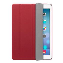 Чехол-подставка Ultra Cover PU и защитная пленка для Apple iPad AIR, красный, Deppa